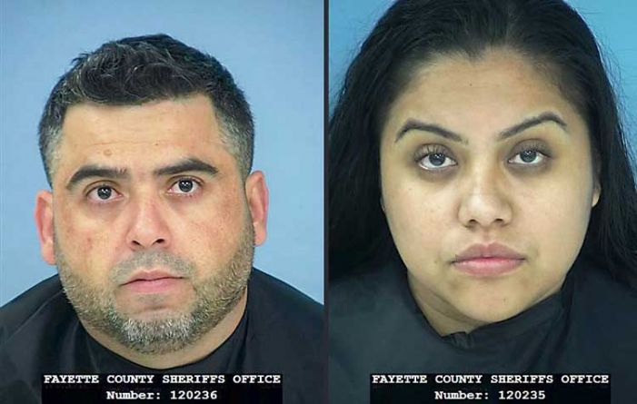Man, woman charged with sexual battery, drugs
