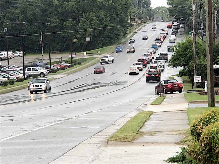 Fayetteville's Hwy. 85 strip to get left-turn stopping medians?