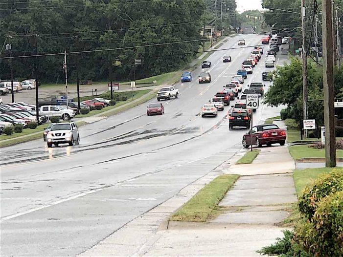 Bye-bye, Fayetteville Hwy. 85 suicide lane