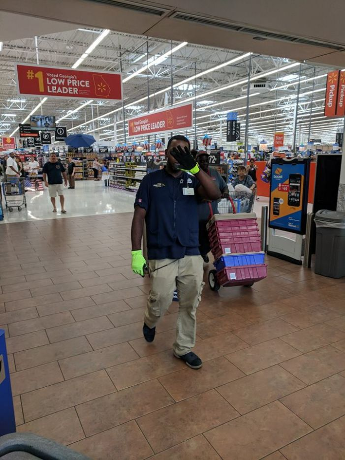 PTC Walmart employees prevent theft by men posing as company workers