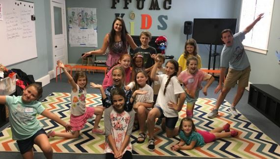 Get M.A.D. at FFUMC Camp