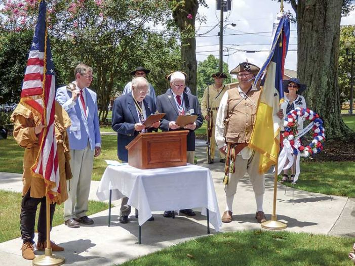 A bell for patriots, courtesy of Fayette's DAR liberty belles
