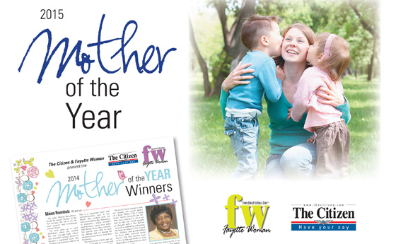 Should someone you know be Fayette's Mother of the Year?