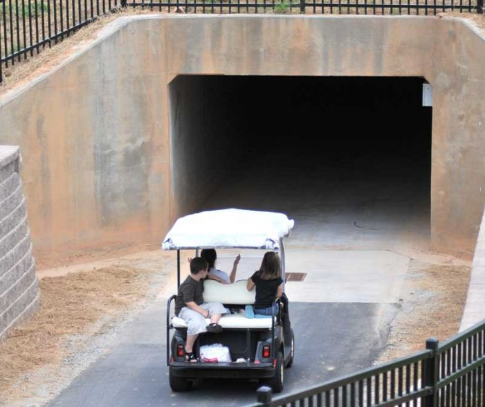 Tunnel to connect Starr's Mill schools to Peachtree City cart path