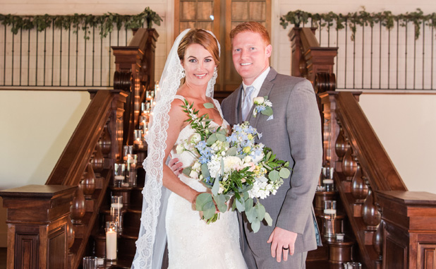 Vickers-Elliott wedding