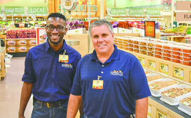 Fresh supermarket Sprouts in Peachtree City